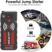 Auto KFZ Starthilfe Jump Starter 21000mAh 2000A Power Bank Ladegerät Booster
