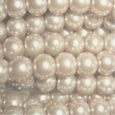 Pearl Gold Round Jewellery Making Beads