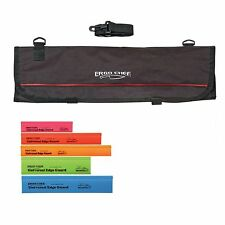 9 Pocket Chef Knife case roll bag with 5 pack edge guards