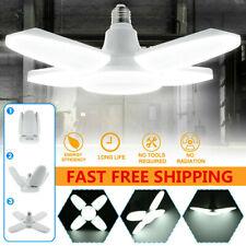 Super Bright LED Bulb Deformable Garage Ceiling Lights E27 Football UFO Lamp USA