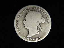 1887 Canada 25 Cents - Silver