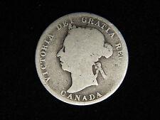 1887 Canada 25 Cents - Silver