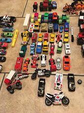 Lot of 105 Loose Matchbox Hotwheels Diecast Cars Trucks Toys 1970-1990'S
