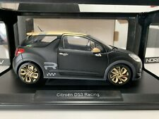 Nouvelle annonce 1/18 CITROËN DS3 RACING 2013 NOIR MAT/OR-NOREV