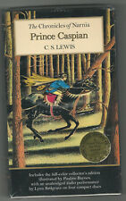 The Chronicles of Narnia PRINCE CASPIAN C. S. Lewis NEW CD AUDIO & PBK BOOK SET