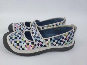 KEEN Harvest Rice Bag 5389-WRRE Woven Mary Jane Slip On Shoe Comfort Size 10