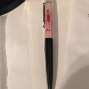 Naked Female Stripper Floaty Pen Nude Girl, Woman Tip and strip ink pen Black