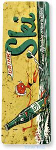 TIN SIGN Ski Soft Drink Retro Soda Cola Drink Kitchen Metal Decor B588
