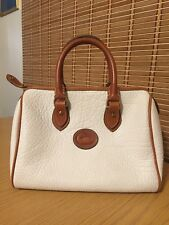 VTG Dooney & Bourke White AWL Speedy Satchel