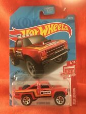 Hot Wheels '87 Dodge D100 Target Red Edition