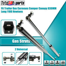 2x 830MM 1100N Gas Struts for Caravans Camper Trailers Canopy Toolboxes Cabinets