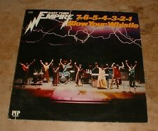 GARY TOMS EMPIRE 7-6-5-4-3-2-1 blow your whistle 1975 US PIP STEREO VINYL LP