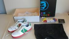 GREEDY GENIUS HARBOR MASTER RED HOOK SHOES SIZE 11 WHITE / RED / KELLY GREEN