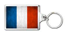 FRANCE FLAG KEYRING SOUVENIR NEW LLAVERO