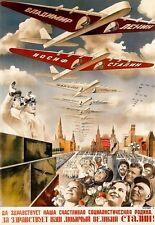 Arte cartel de propaganda soviética Guerra Poster Print