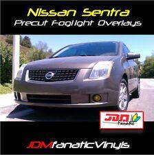07-11 Sentra NISMO Fog light JDM Yellow Overlays TINT