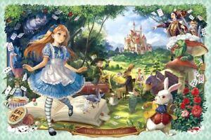1000 piece jigsaw Epoch Jigsaw Puzzle 1000 Pieces Alice in Wonderland