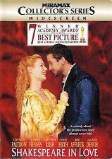 Shakespeare in Love ~ Gwyneth Paltrow Joseph Fiennes ~ Dvd Ws ~ Free Shipping