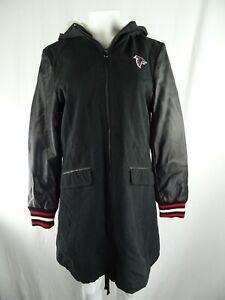 Atlanta Falcons NFL Touch by Alyssa Milano Women's Full Zip Long Coat FLAWED