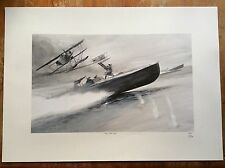 Limited Edition Aviation Print CMB Hansa-Brandenburg W.12 Keith Burns