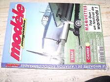 µµ Modele Magazine n°540 Plan encarté Avion cargo CTP 3 1er partie  / Fivol II