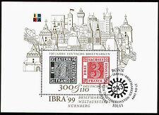 Bund Block 46 FDC SStpl. Intern. Briefmarkenausstellung IBRA 99