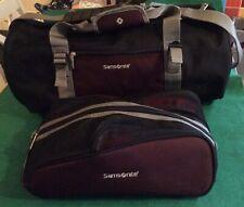 Samsonite By Athalon Hold-all Shoulder Bag & Wash Bag Cabin Luggage Suitcase