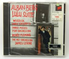 Alban Berg: Lulu Suite; Wozzeck, Three Excerpts ~ NEW CD (1996, Sony Classical)