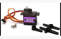 9g Micro Servo Metal Gear For align trex 450 Helicopter Car Airplane and more.