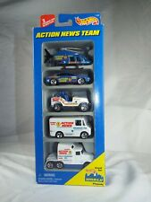 Hot Wheels Toy Car Gift Pack TV Station Action News Team 1996
