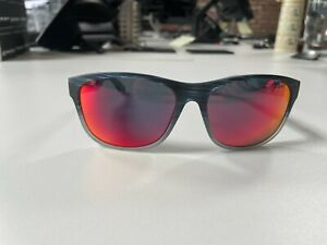 Rudy Project Groundcontrol Blue Streaked Matte - Multi Laser Red Sunglasses