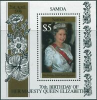 Samoa 1996 SG987 QEII 70th Birthday MS MNH
