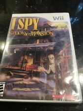 I Spy Spooky Mansion (Nintendo Wii, 2010) Brand New Factory Sealed