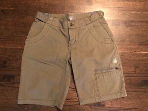 NWOT Spyder Olive Green Golf Shorts Size M