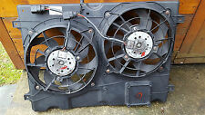 FORD GALAXY PETROL TWIN ELECTRIC COOLING FAN WITH HOUSING PANEL