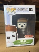 Funko Pop! Olaf Snoopy Target Exclusive Rare New Protector Vaulted Needles