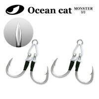 OCEAN CAT Assist Hooks Spirit South California Tuna Jigs Slow Fast Fall SJ51