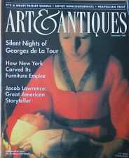 ART & ANTIQUES MAGAZINE--DEC 1996-- NY FURNITURE, JACOB LAWRENCE, PAISLEY SHAWLS