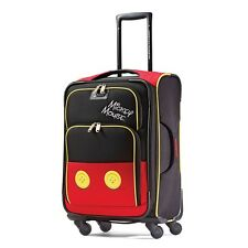 Child Suitcase With Wheels Disney Mickey Mouse Rolling Travel Carry On Luggage