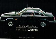 Publicité Advertising  078  1978   Honda   Prélude  (2 pages)
