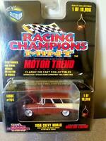 Racing Champions Mint - Motor Trend - 1956 Chevrolet Nomad - Issue #144