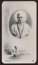 """santino-holy card""""""""ediz. FB*  n.1743 S.PIO X PAPA"""