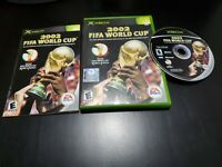 2002 FIFA World Cup (Microsoft Xbox, 2002) COMPLETE! W/ REGISTRATION CARD!