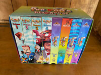 Pee-Wee's Playhouse Vol. 1-8 Gift Set MGM/UA 1996 Original VHS Tapes NTSC - Used