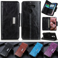 Luxury 6 Card Wallet Leather Flip Cover Case For LG K40 K51 G8XThinQ Q60 Q70 K61