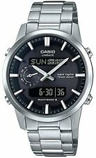 CASIO 2017 LINEAGE LCW-M600D-1BJF Radio Waves Solor Men's Watch New in Box