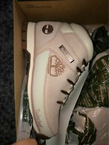 New in Box SIZE 6 Timberland Euro Hiker Boot - Pale Pink