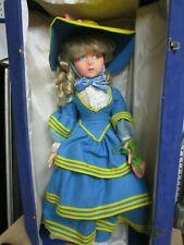 "Vintage Estate Find Beautiful Lenci Doll Original Case 26"""