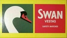 More details for 24 x boxes swan vesta safety matches bbq camping vestas 85 matches per box