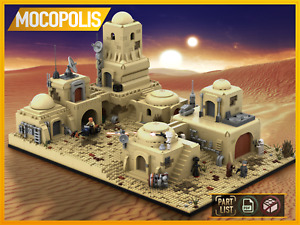 LEGO MOC Star Wars Tatooine Mos Eisley Cantina #1 | PDF instructions (NO PARTS)